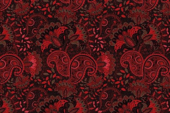 Red seamless pattern - Patterns