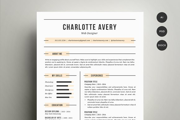 two page resume format example two page resume sample resume