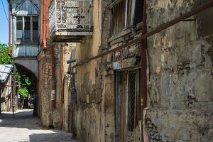 Narrow streets of Old Tbilisi