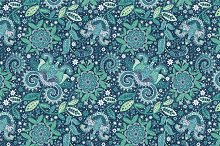 Seamless pattern. Jeans texture