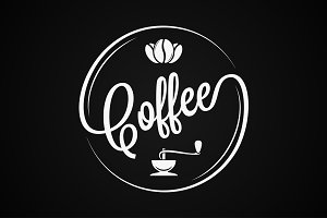 Coffee Logo Vintage