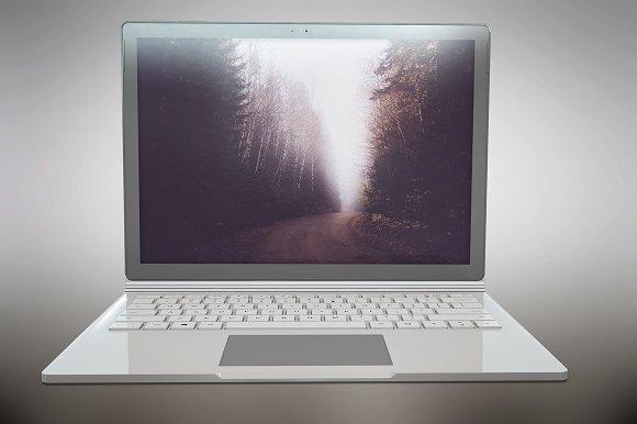 Microsoft SurfaceBook App Mockup