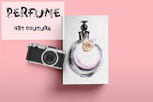 Perfume floral couture