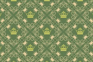 Seamless pattern Royal Wallpaper