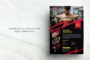 Workout Gym Flyer
