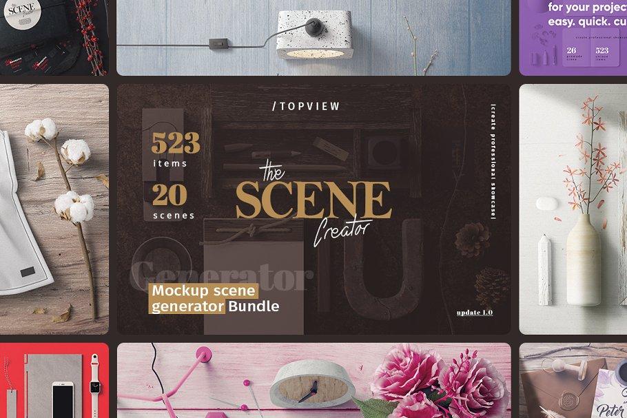 The Scene Creator | Topview ~ Scene Creator Mockups ~ Creative Market
