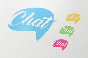Chat Social Media Business Symbol