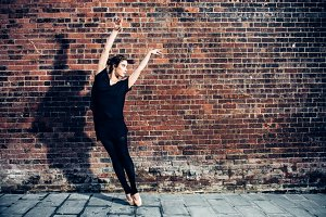 ballet dancer woman dancing ballet
