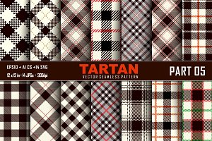 Seamless  Tartan Pattern Part -05