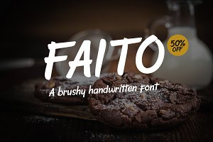 Faito Font - Intro Sale 50% OFF