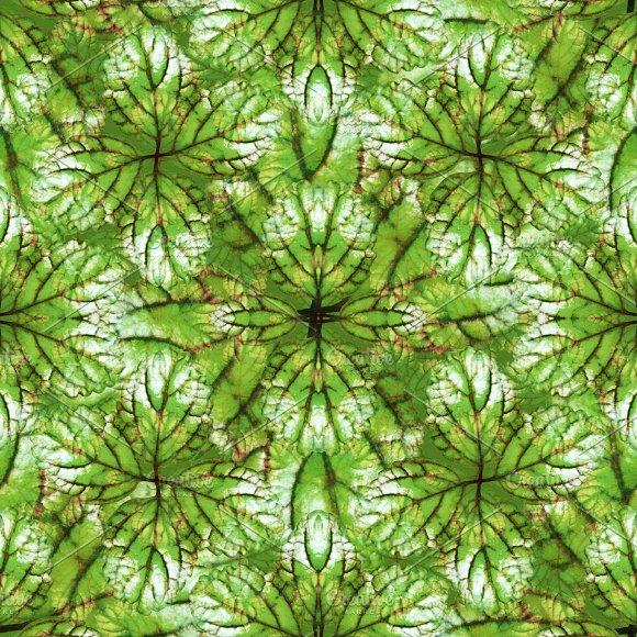 Stylized Nature Seamless Pattern Design