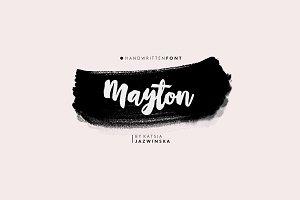 Mayton | Brush Script