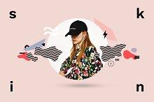 SKIN Trendy Social Media Design