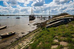 Boats at Heybridge Basin