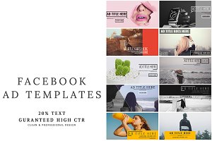 Facebook Ad Templates Vol.2