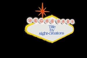 Vegas Baby Title