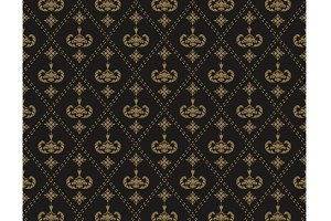 Seamless pattern Art Deco
