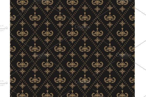 Seamless pattern Art Deco