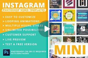Mini - Instagram Video Templates