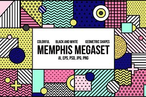 Memphis megaset background