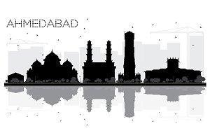 Ahmedabad City skyline