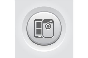 Mobile Photo Blogging Icon