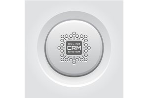 Online CRM System Icon