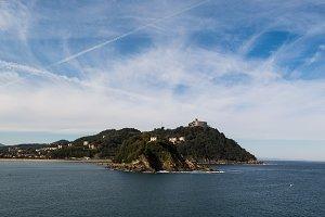 Donostia, Spain Island View
