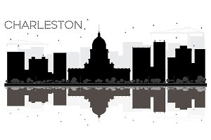 Charleston City skyline