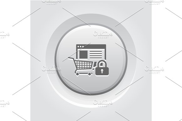Safe Shopping Icon