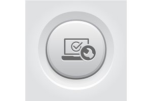 Laptop Repair Icon