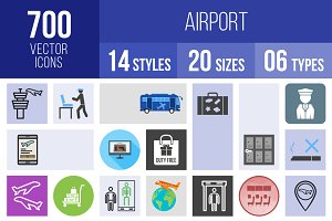 700 Airport Icons