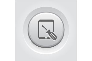 Tablet PC  Repair Service Icon