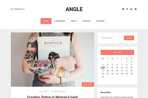 Angle - Blog WordPress Theme