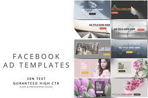 Facebook Ad Templates Vol.3