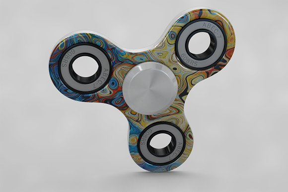 Spinner Fidget MockUp