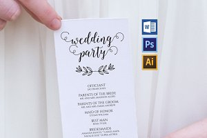 Wedding Program WPC179