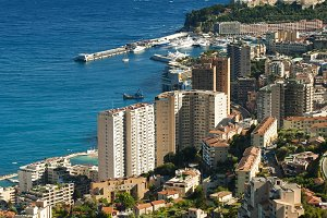 Bay of Monaco and Monte Carlo