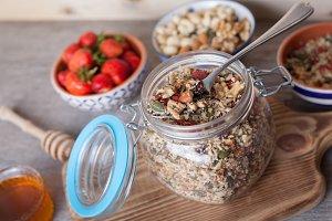 Grain free oat free paleo muesli