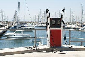 Marina petrol station