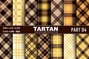 Seamless Tartan Pattern Part -04