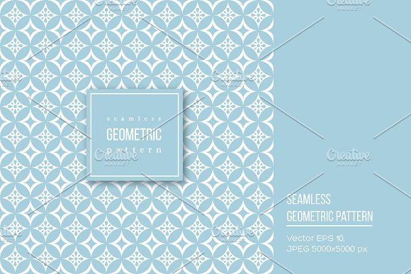 Seamless geometric pattern. in Patterns