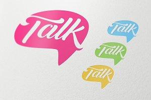 Talk Social Media Business Symbol