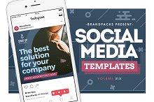 Social Media Templates Vol.6