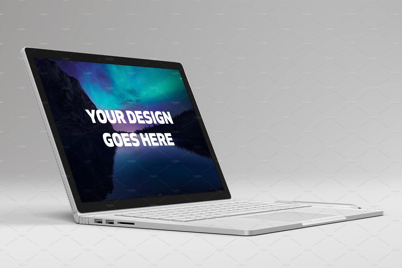 microsoft surface laptop mock up 1 product mockups creative market