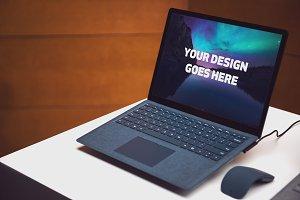 Microsoft Surface Laptop Mock-up#2