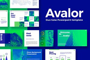Avalor 1.0 Powerpoint Template