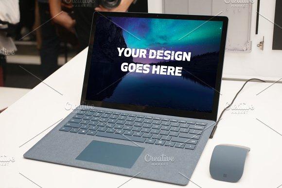 Microsoft Surface Laptop Mock-up#3