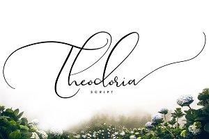 Theodoria Script Font