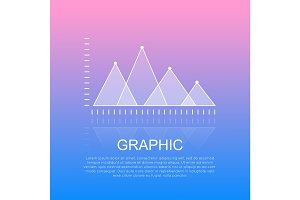 Graphic Diagram with Triangular Marks Report.